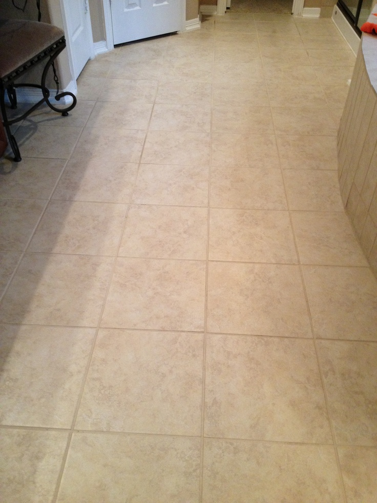Cleaning Grout In Bathroom After Picture Used A Product
