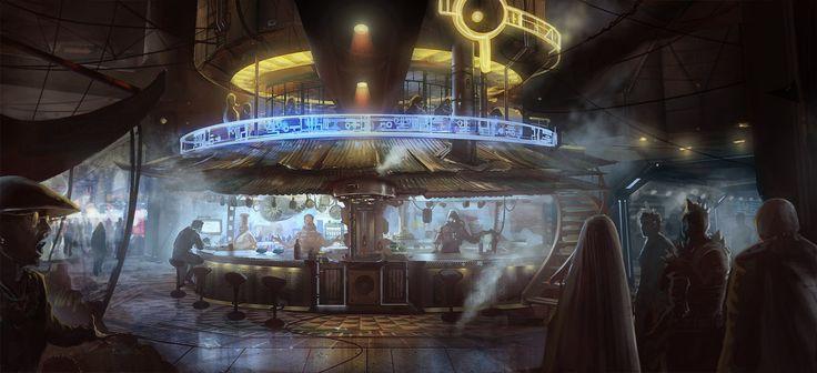 Future Bar by DrawingNightmare.deviantart.com on @DeviantArt