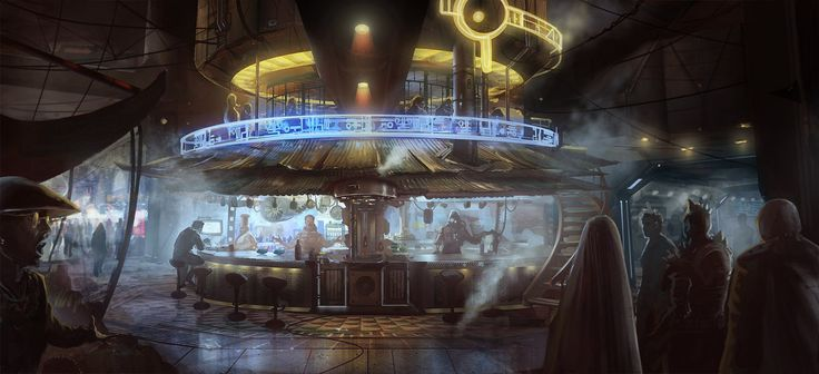 Future Bar by DrawingNightmare.deviantart.com on @DeviantArt