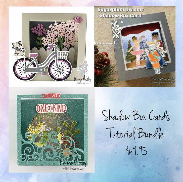 Tutorial Bundle - Shadow Box Cards, #addinktivedesigns