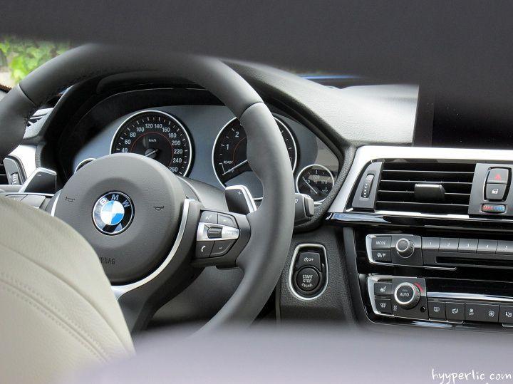 BMW 4er Gran Coupe in Estorilblau mit M Sportpaket