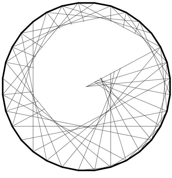 Drawing Using Only Straight Lines : Best circle geometry ideas on pinterest math