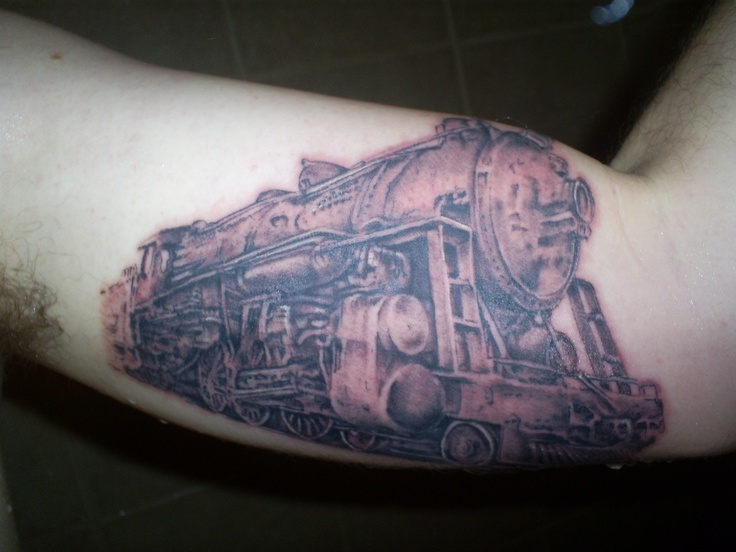 23 best train tattoos images on pinterest train tattoo for Crazy train tattoos