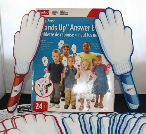 Roylco-Hands-Up-Dry-Erase-Answer-Boards