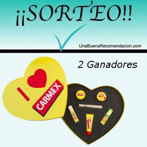 SORTEO SAN VALENTÍN: 2 ESTUCHES I ♥ CARMEX!