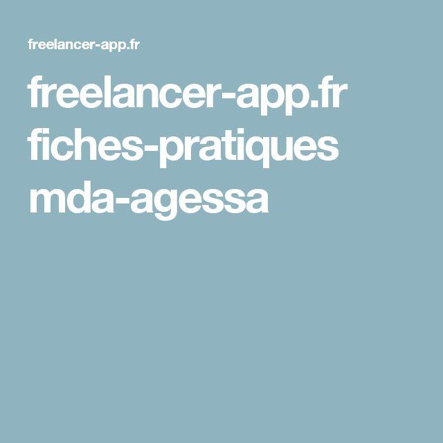 freelancer-app.fr fiches-pratiques mda-agessa