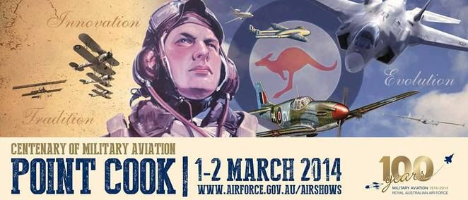 Centenary of Military Aviation Airshow Point Cook 2014