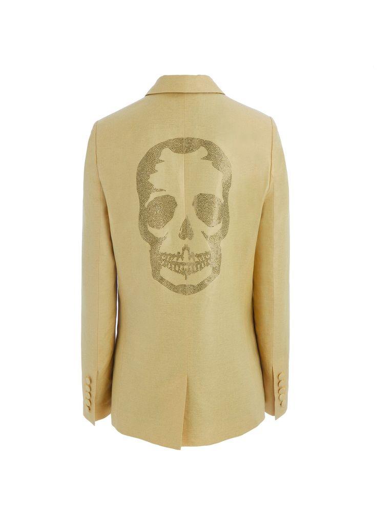 veste pour femme vedax strass tdm jaune zadig voltaire clothes