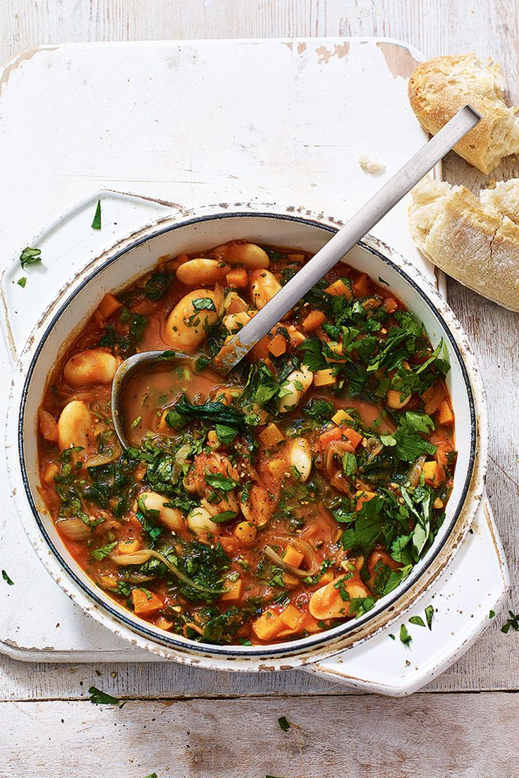 The Pool - Food and home - Butterbean And Vegetable Stew