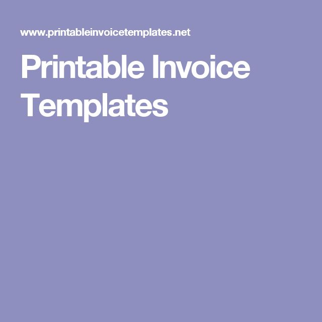 The 25+ best Printable invoice ideas on Pinterest Invoice - free printable invoice forms