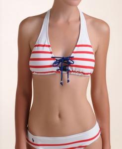 Halter Bikini Top: Bikinis Tops, Ralph Lauren, Sweet Swimwear, Bikini Tops, Stripes Halter, Women'S Swimwear, Woman Swimwear, Striped Halter, Halter Bikinis