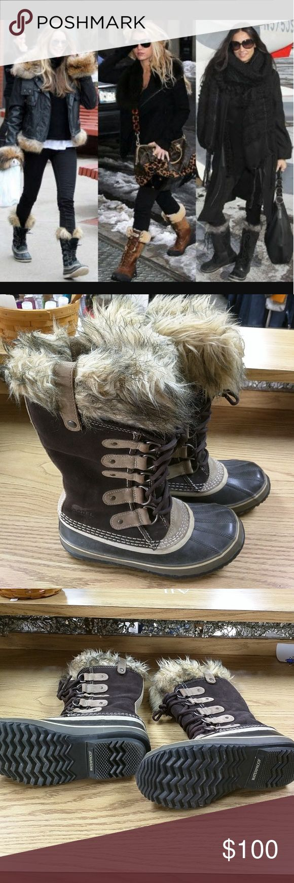 Joan of Arc Artic Boots Sorel Joan of Arc Artic Boots Size 7 Sorel Shoes Lace Up Boots
