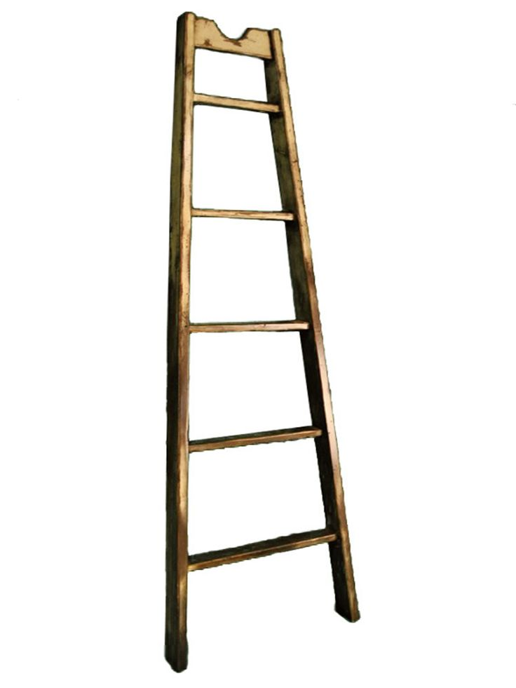 ... | Rustic vintage decor, Decorative ladders and Wood christmas tree
