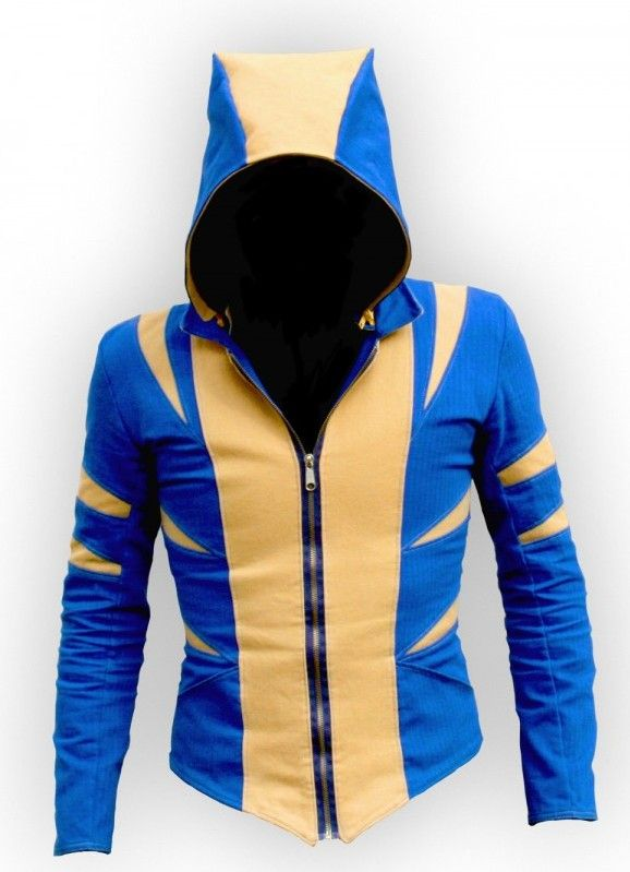 custom jacket inspired by Wolverine, designed by Enzo Volante - i so need this!