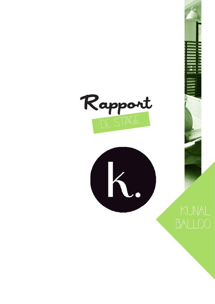 Best Internship Report Images On   Editorial Design