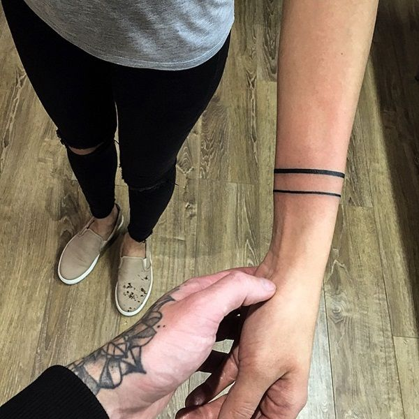 Simple Yet Strong Line Tattoo Designs (74)