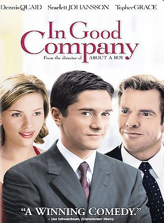 In Good Company (DVD, 2005 FULLSCREEN) Johansson Quaid NEW FREE SHIP TRACK US