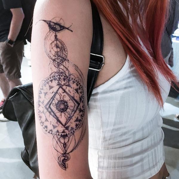 c7fcd6e3a 星座刺青紋身 horoscope zodiac sign Tattoo Bohemian galaxy tattoo Large Back Tattoo  Romantic tarot tattoo spiritual Tattoo Mandala LAZY DUO Tattoo Sticker ...
