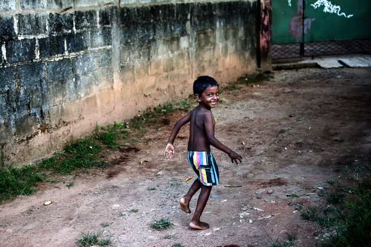 Running Boy by Marcel Kolacek