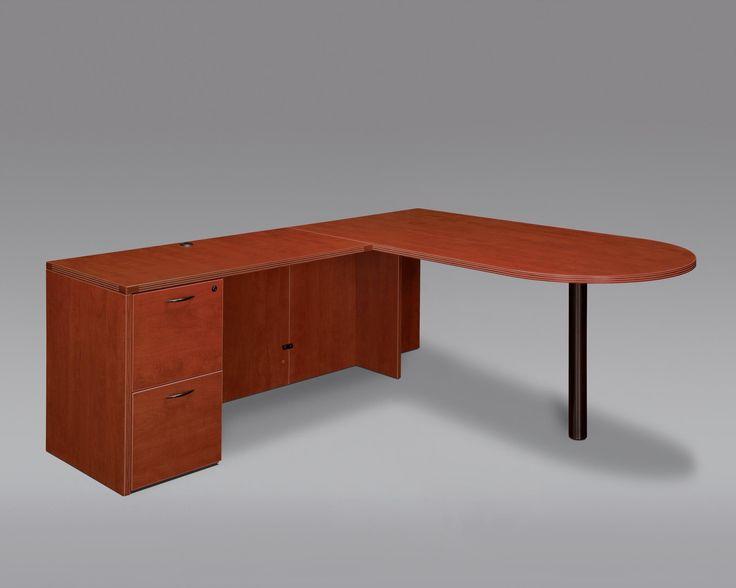 L Shape Desk Riverside Furniture Allegro Rs L Shape