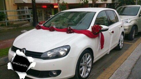 #Christos&Melina's#Wedding#CarDecoration#Flowershop#Oneiranthi#Rethymnon#