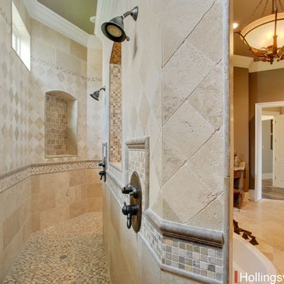 Walk through shower design ideas pictures remodel and for Walk through shower plans