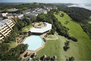 Birds eye view of the  beautiful Wild Coast Sun Resort.