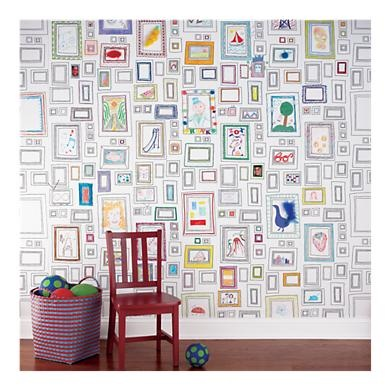 fun wallpaper...my kids would LOVE this!