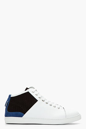 NEIL BARRETT Colorblock City Sneakers