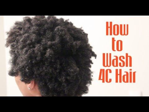 [*128*] How to easily wash your Natural 4C Hair