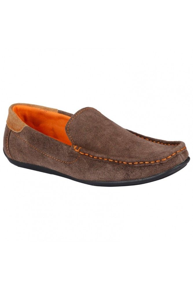 Buy BACHINI Brown Brown Casual Loafers for Men Online India| TrendyBharat.com