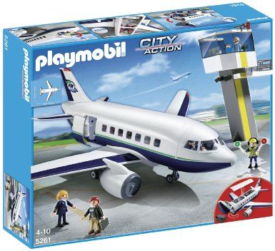 Playmobil City Action 5261 Cargo and Passenger Aircraft: Amazon.co.uk: Toys & Games