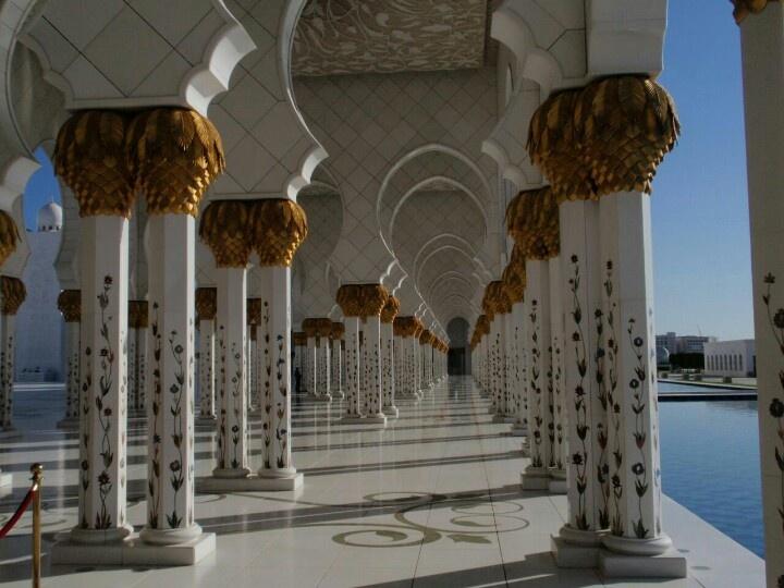La mezquita de Abu Dabhi