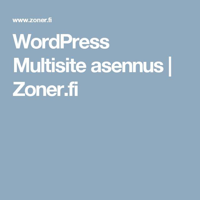 Oletko aina halunnut hallita useita eri sivustoja keskitetysti yhden WordPress asennuksen kautta? Tai vaikkapa halunnut toteuttaa palvelun, jossa sen yksittäiset käyttäjät saavat luotua omia sivustojaan? WordPress multisite asennuksen avulla tämä onnistuu.