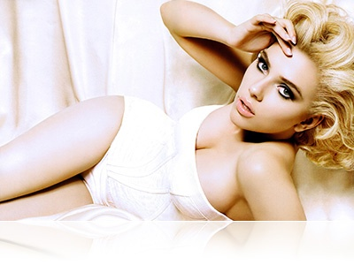 Scarlett Johansson gorgeous as always