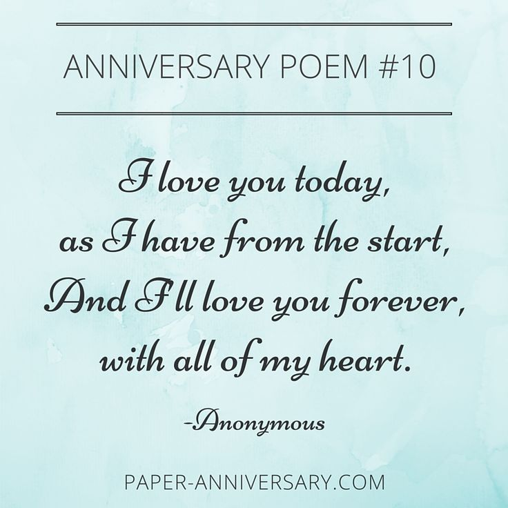 10 EPIC Anniversary Poems for Him | Beautiful, Posts and Sweet