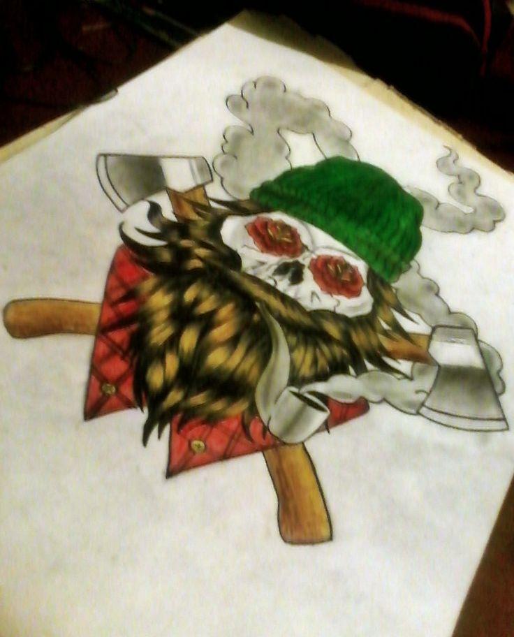 leñador tattoo