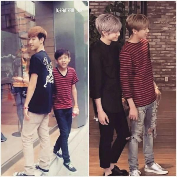 What puberty did to Bambam. :P