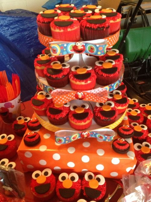 Party Planning — Elmo First Birthday Party