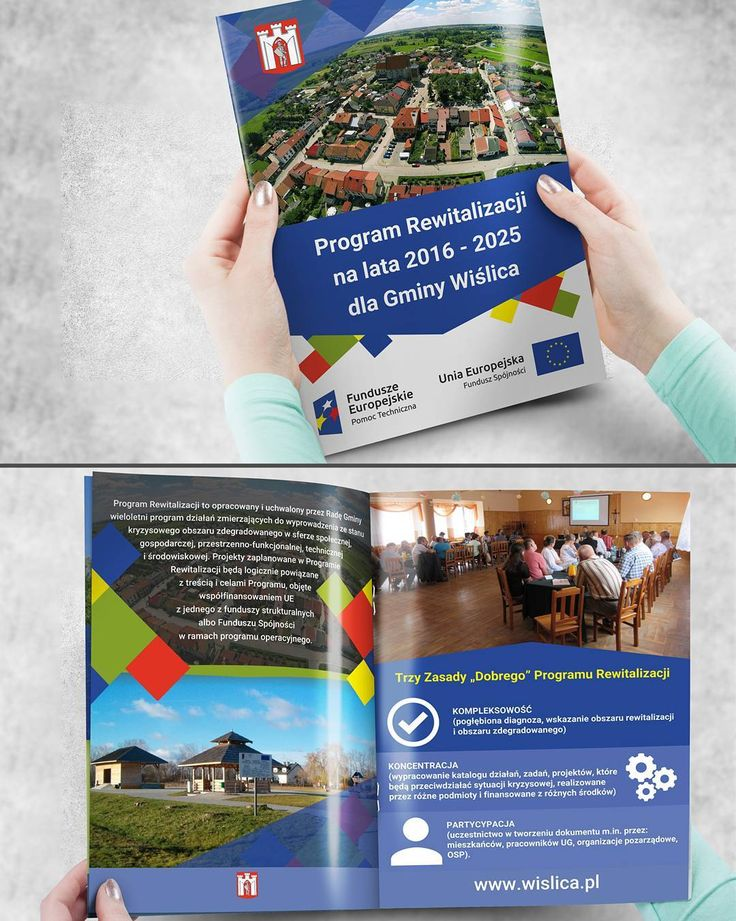 Projekt graficzny i wydruk broszur informacyjnych dla Gminy Wiślica #projektgraficzny #graphicdesign #katalog #catalogue #wislica #mgraphics #nadajemyksztaltypomyslom www.mgraphics.eu