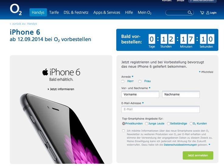 """O2 MyHandy Preis iPhone 6 & iPhone 6 Plus geleakt? - https://apfeleimer.de/2014/09/o2-myhandy-preis-iphone-6-iphone-6-plus-geleakt - Das iPhone 6 bei O2- Preise bekannt: Was kostet das iPhone 6 oder iPhone 6 Plus bei O2? Bei O2 ist der Kauf eines iPhones über O2 MyHandy eher mit einer iPhone 6 Finanzierung oder Ratenzahlungals mit einem """"echten iPhone 6 mit Handyvertrag""""zu vergleichen, denn im Gegensatz zu Tel..."""