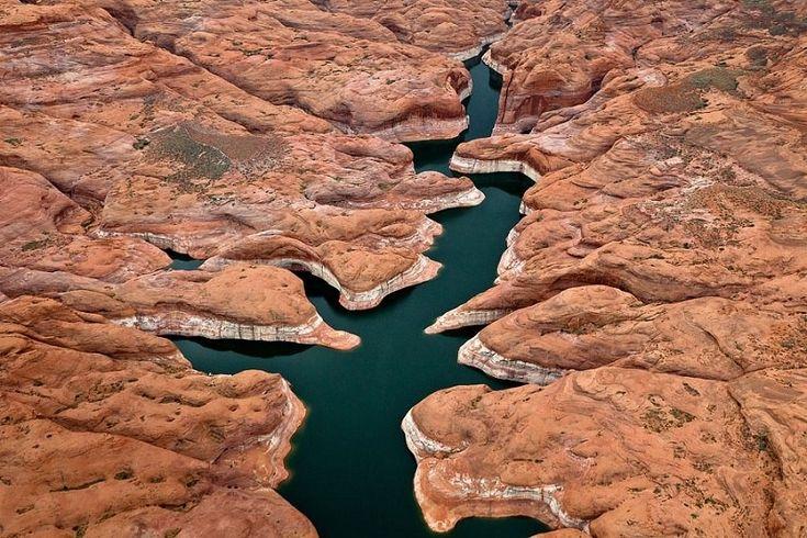Искусственное озеро Пауэлл на реке Колорадо - Путешествуем вместе