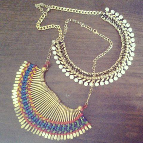 Statement Necklaces  #fashion #style #stylish #tribal #chic #india #mumbai #fashionblog