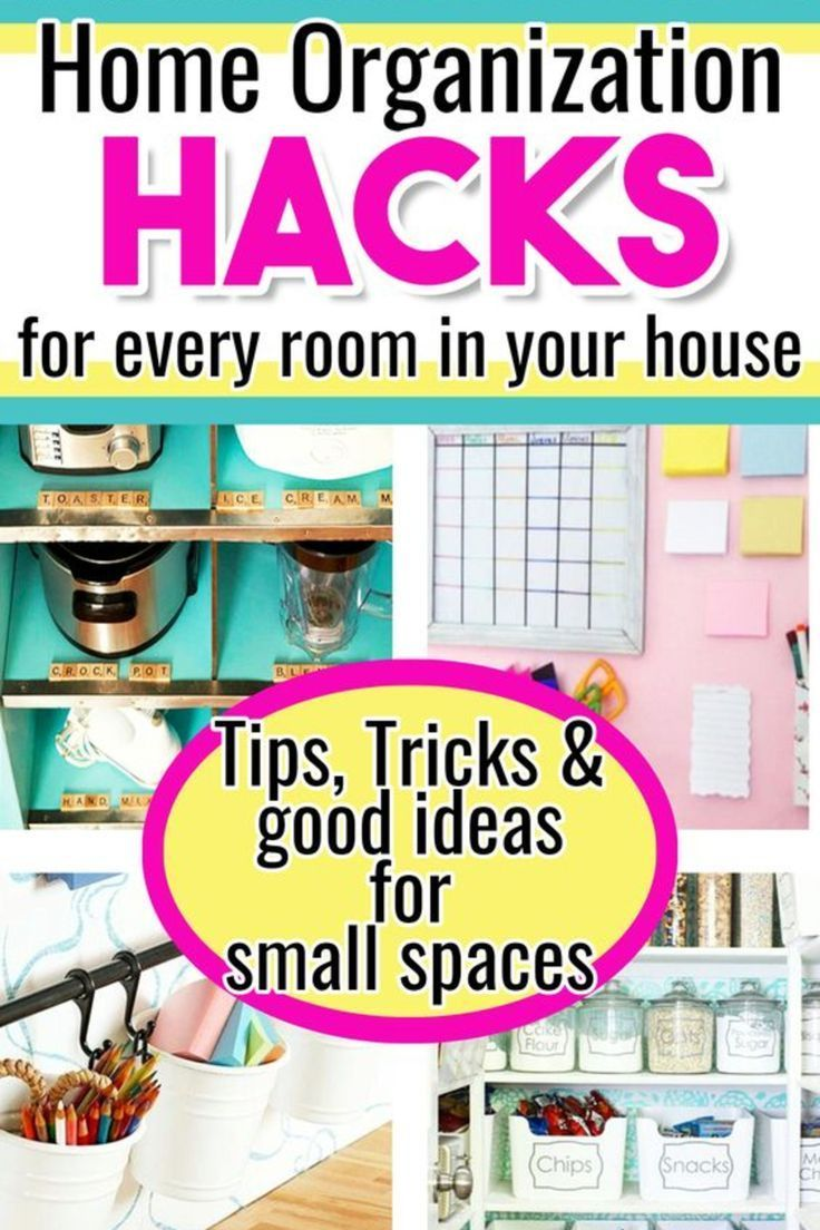Home Organization Hacks Good Ideas For Organizing A Small Bedroom