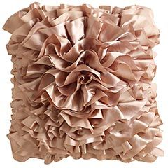 I like decorating with pillows - and this blush is a shade that could work well in a lot of places.: Decor, Idea, Blush Ruffle, Living Room, Ruffle Pillow, Pier 1 Imports, Pillows, Ruffles