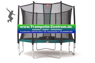 Trampolin-Zentrum - BERG Favorit 430 mit Sicherheitsnetz Comfort 430