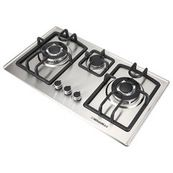 """Fashion 35.5"""" Stainless Steel 5 Burner Built-In Stove NG LPG Gas Cooktop Cooker - Modern - Cooktops - by Windmax Home Improvement LLC"""