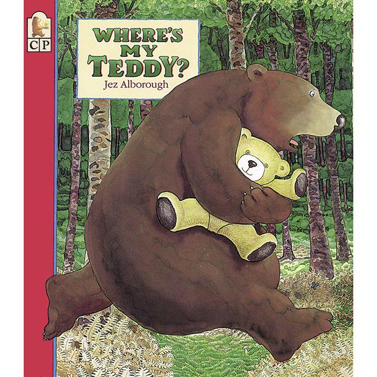 September 9th: National Teddy Bear Day  WHERES MY TEDDY BIG BOOK