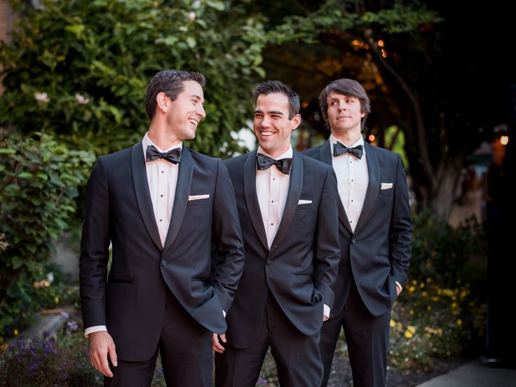 How to Rent a Suit or Tux—Without Leaving Your Living Room   Photo by: Generation Tux   TheKnot.com