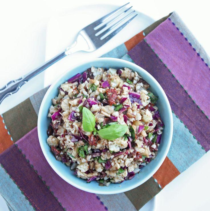 """Anti"" Pasta Cauliflower Salad - Low Carb and Gluten Free - I Breathe... I'm Hungry..."